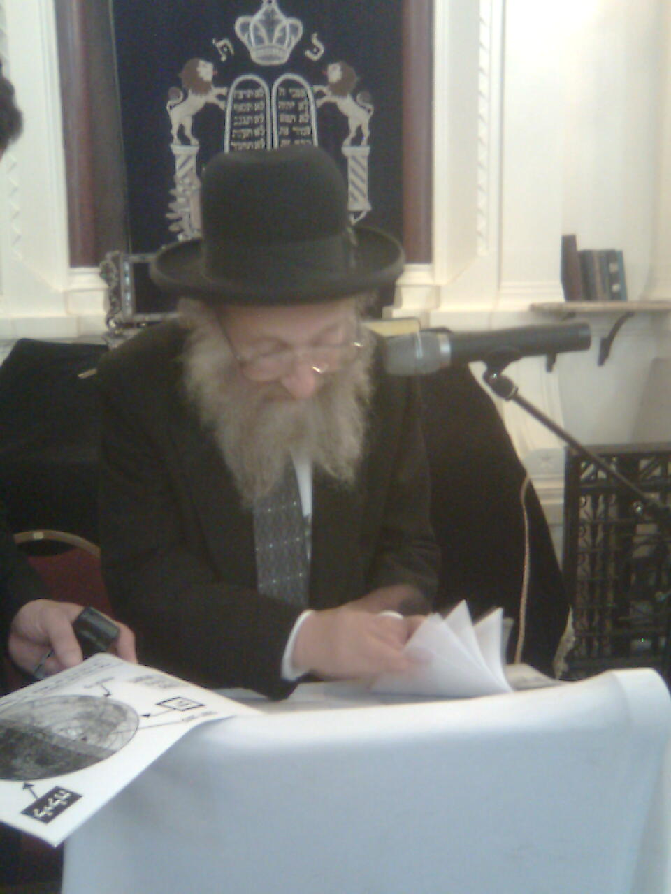 Rav Méïr Posen Chlita au Consistoire le 23 juin 09